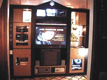 Modelo for Diseno de muebles para equipos de sonido